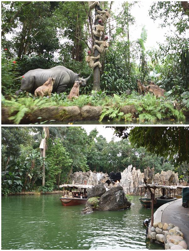 香港迪士尼樂園_探險世界_森林河流之旅 2