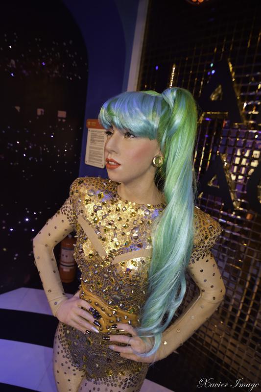 香港太平山杜莎夫人蠟像館_Lady Gaga