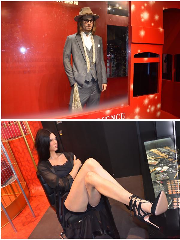 香港太平山杜莎夫人蠟像館_Johnny Depp_Kendall Jenner