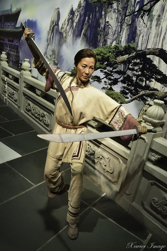香港太平山杜莎夫人蠟像館_楊紫瓊