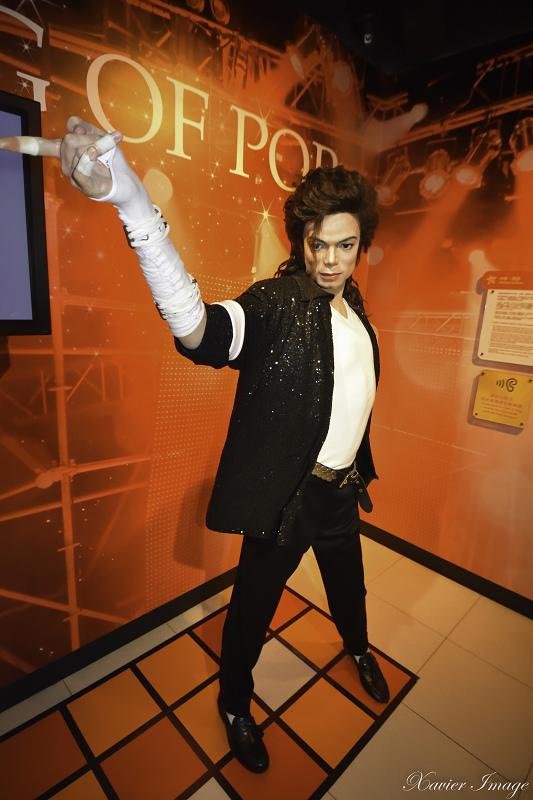 香港太平山杜莎夫人蠟像館_Michael Jackson