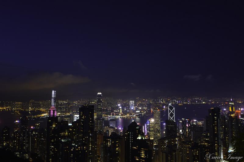 香港太平山頂夜景 2