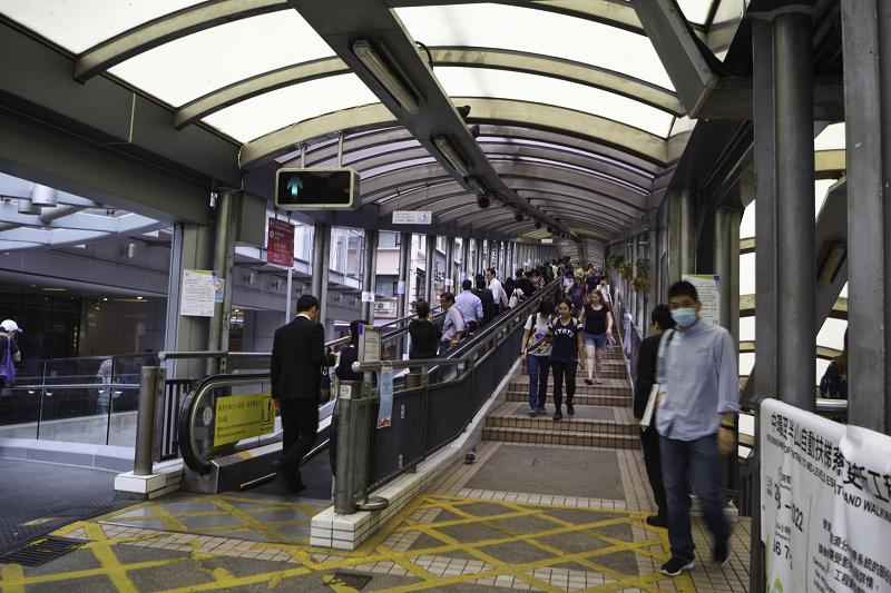 香港中環至半山自動扶梯