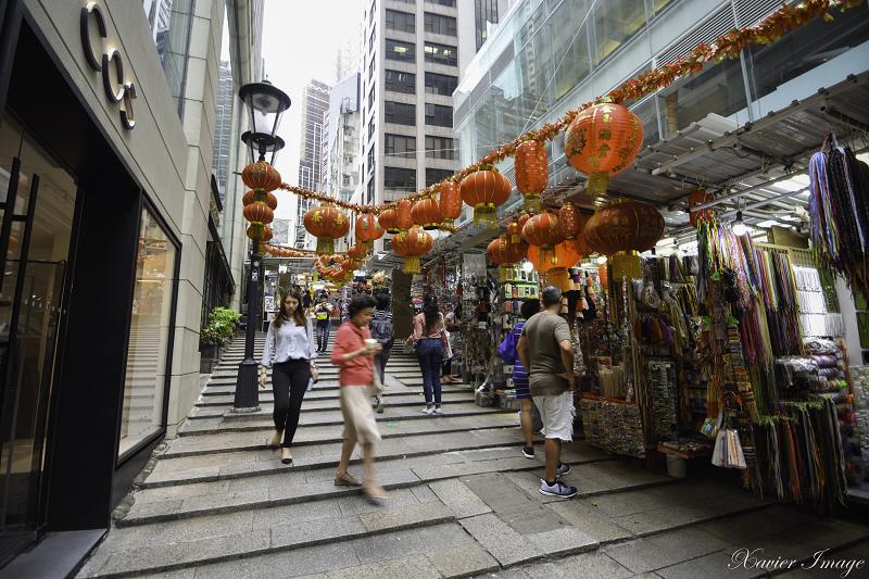 香港中環石板街_砵甸乍街