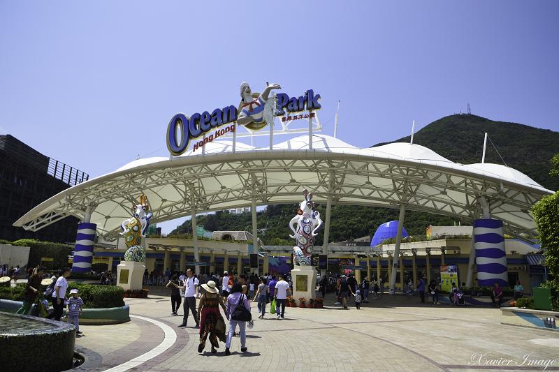 香港海洋公園入口大門