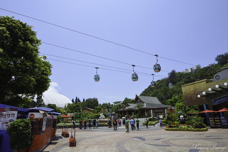 香港海洋公園_登山纜車