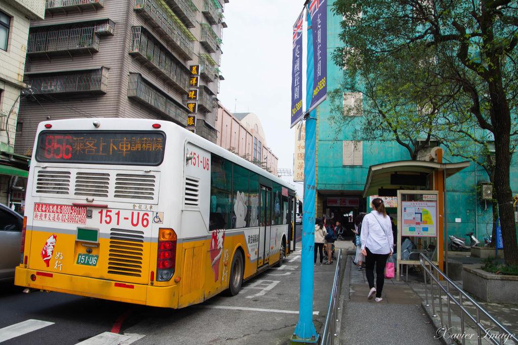 瑞芳火車站_往九份公車站牌