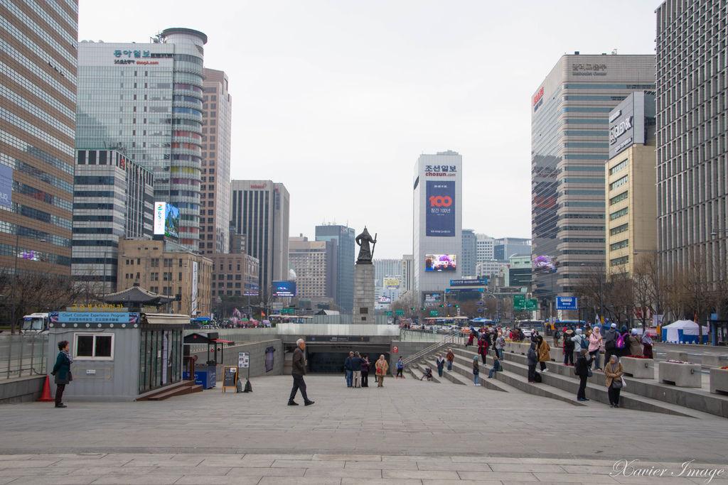 韓國首爾_光化門廣場 2