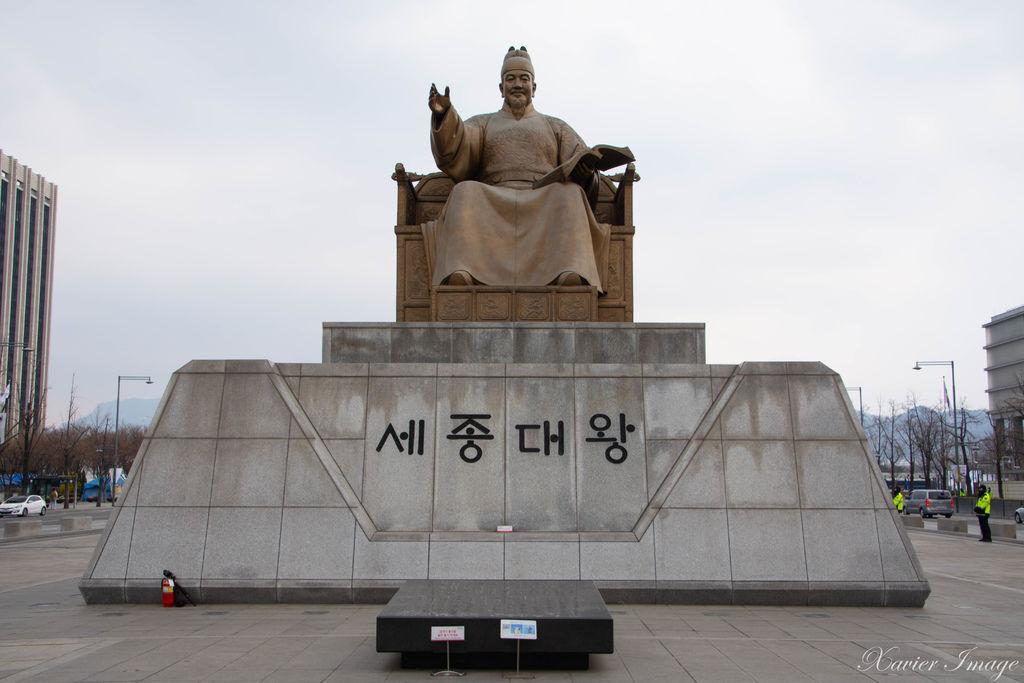 韓國首爾_光化門廣場_世宗大王