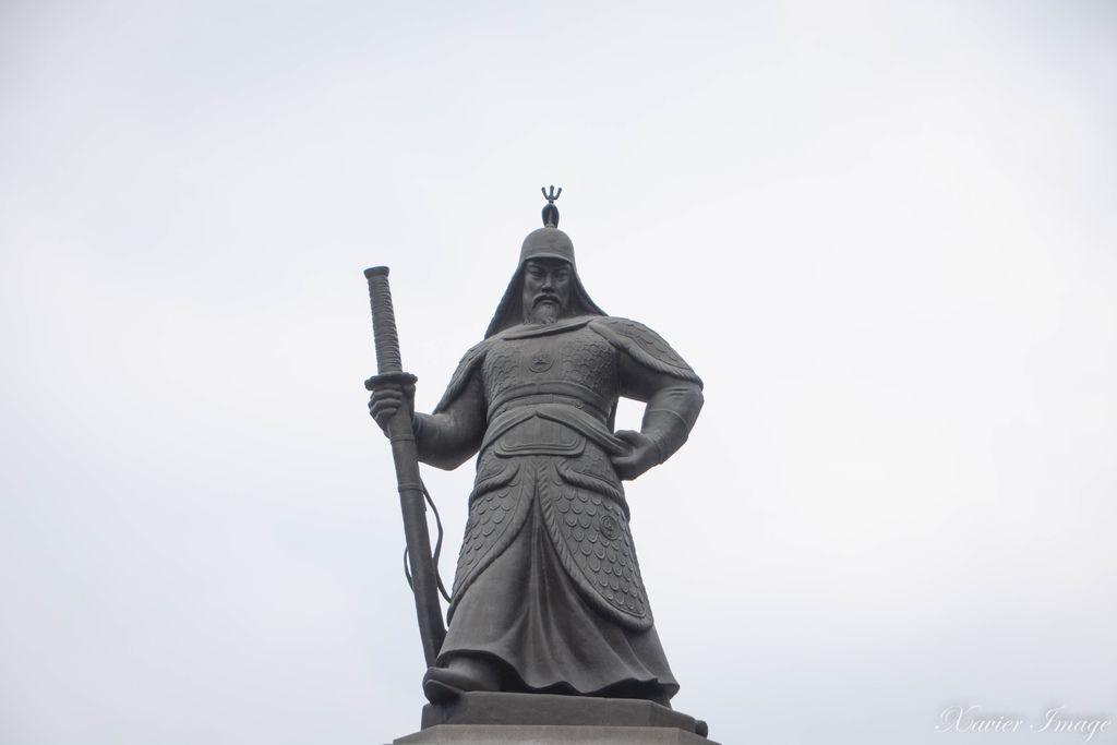 韓國首爾_光化門廣場_忠武公李舜臣將軍