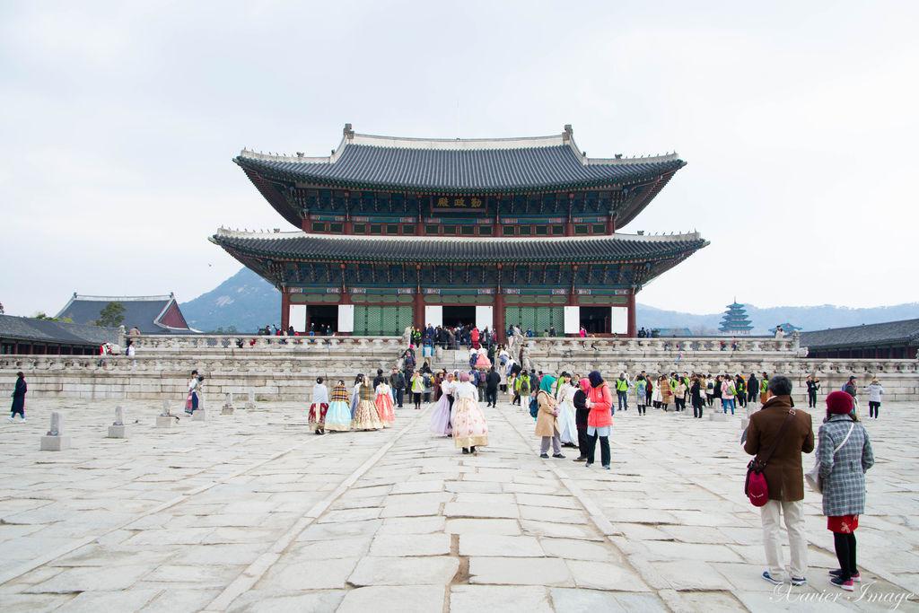 韓國首爾_景福宮_勤政殿