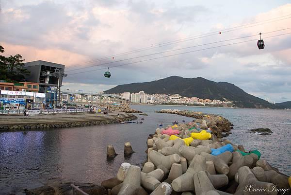 韓國釜山_松島雲彩散步路_海上纜車