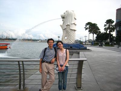 20070915 萊佛仕坊魚尾獅公園-Shozi蘭
