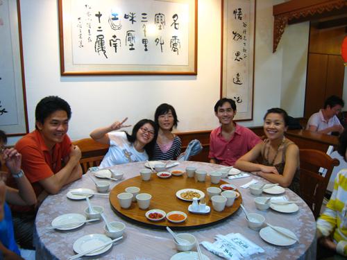 20070916 亮記潮州菜館-團員