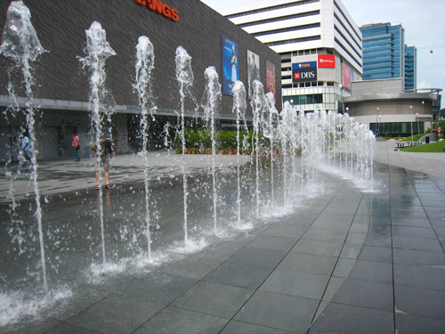 20070917 VIVO City-噴水池