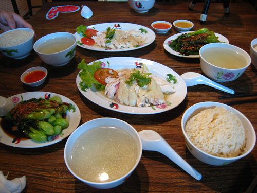 20070917 VIVO City food republic-海南雞飯