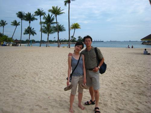 20070917 聖淘沙西索羅海灘-蘭Shozi