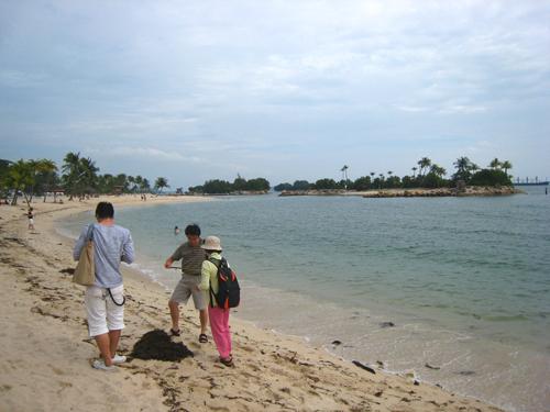 20070917 聖淘沙西索羅海灘-團員
