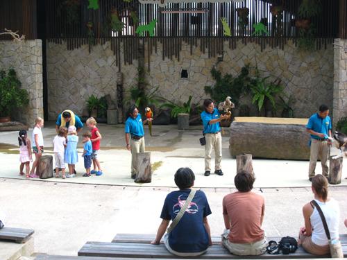 20070917 聖淘沙動物樂園-謝幕