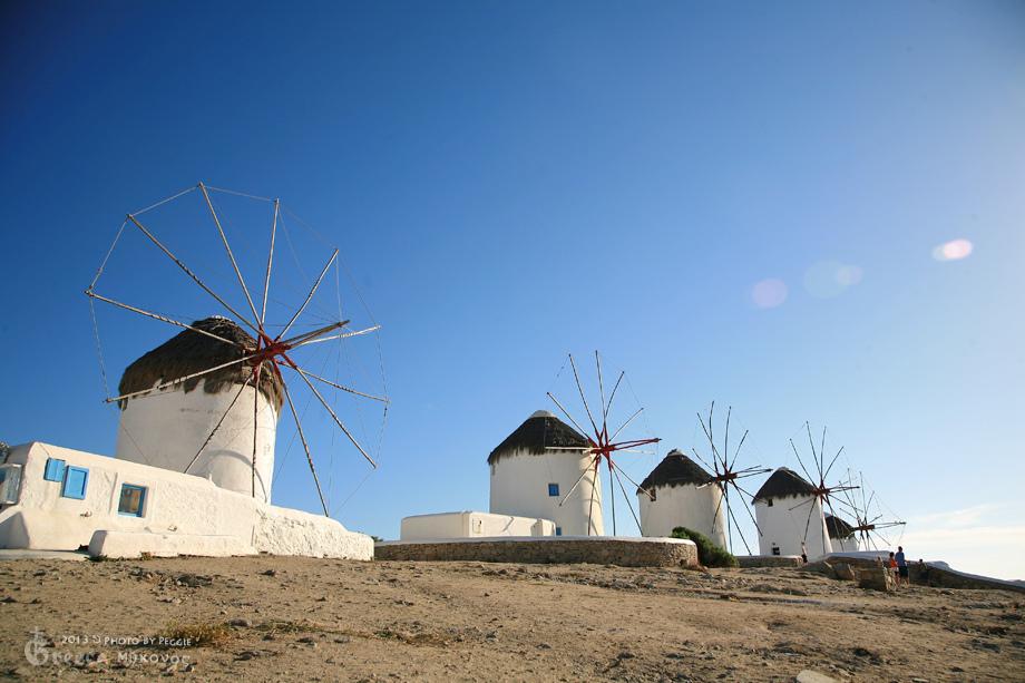 米克諾斯五風車