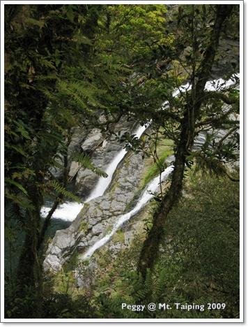 三疊瀑布第二層&三層