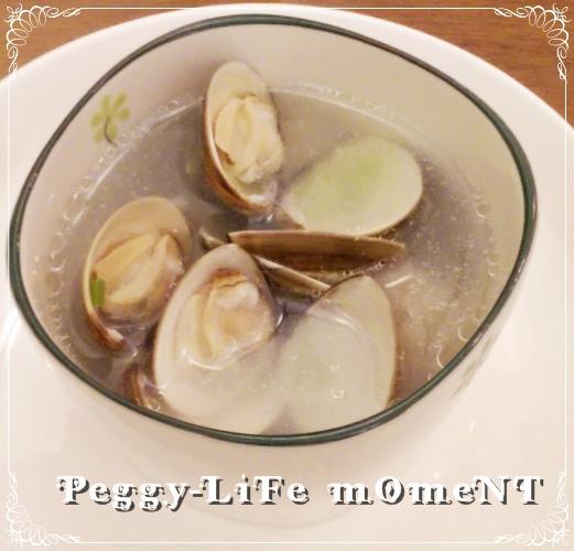 晚餐的蛤犡湯