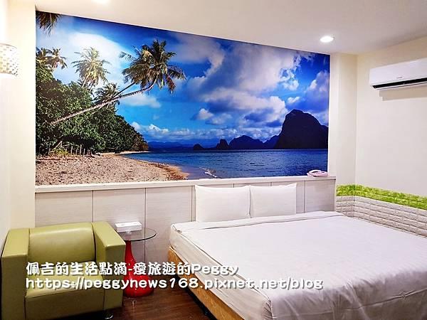 台中商務旅館推薦-安順-房間-沙灘.jpg