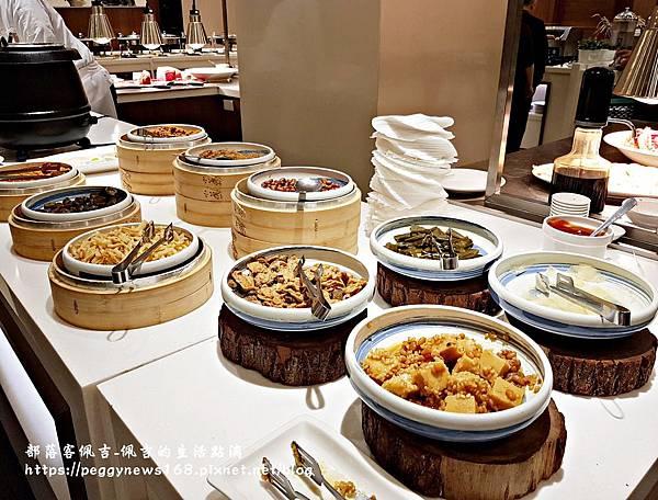 台中飯店推薦-全國大飯店-早餐小菜區.jpg