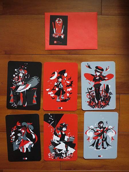 大福草莓&透子:黑色葬儀社(左上右上 下中皆已交換)
