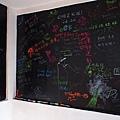 Ki 厝 - 樓梯間的黑板