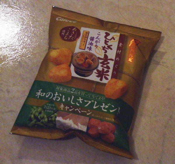 Calbee -- 日本醬油味米果