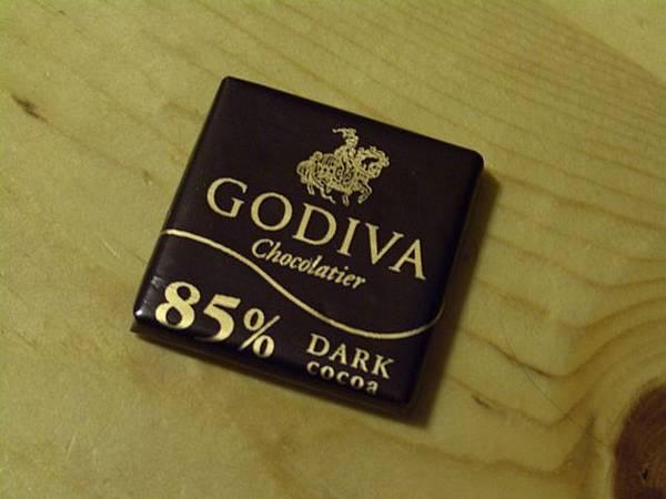 Godiva -- 85% Dark Cocoa