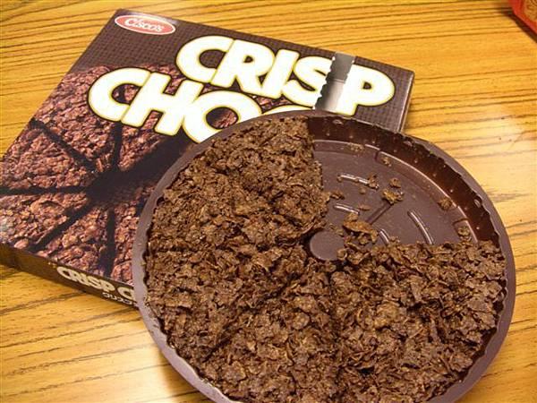 純巧克力脆餅