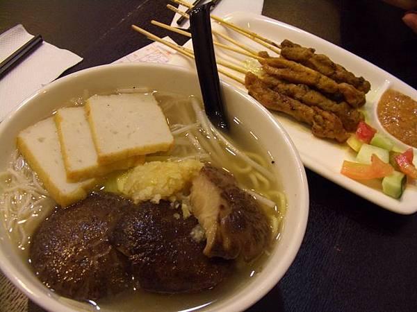 巴巴叻沙 -- 胡椒湯魚片摻摻