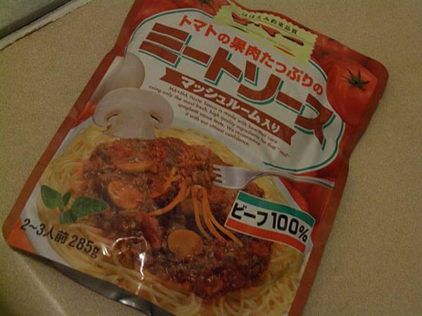 日清磨菇蕃茄意麵調味包