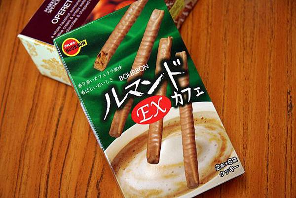 咖啡口味脆條