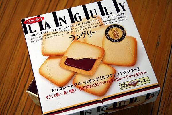 巧克力口味奶酥餅乾