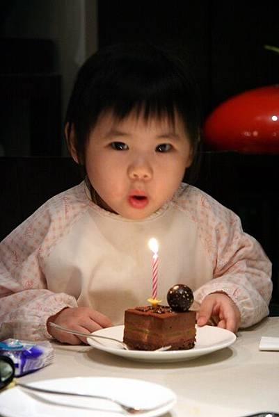 小因因三歲了! ^_^