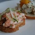 Lounge @ 4 Seasons -- 洋蔥鮭魚三明治