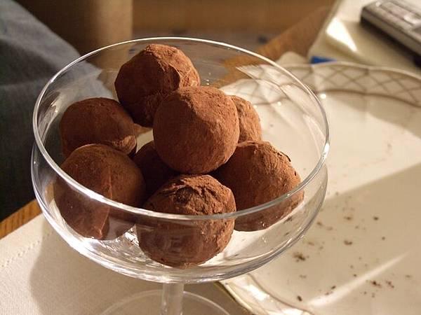Tiffin -- 松露巧克力