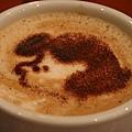 查理布朗咖啡店 -- 露西巧克力咖啡