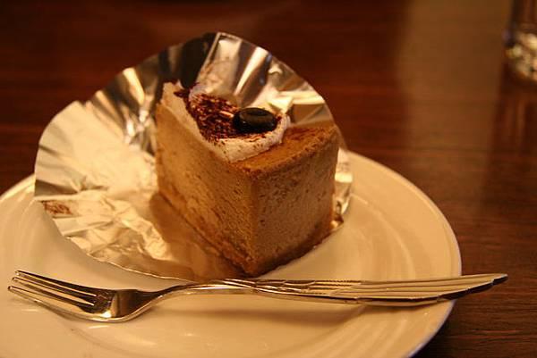 哲學咖啡館 -- 卡布奇諾起司蛋糕