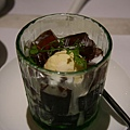 囍宴甜藝 -- 咖啡果凍配牛奶冰淇淋