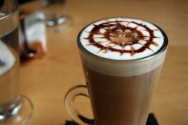 OM Cafe -- 橘子摩卡咖啡