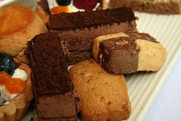 Le Petit Teca -- 餅乾 & 巧克力慕絲蛋糕