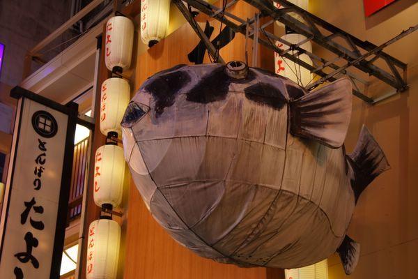 道頓堀 -- 河豚燈
