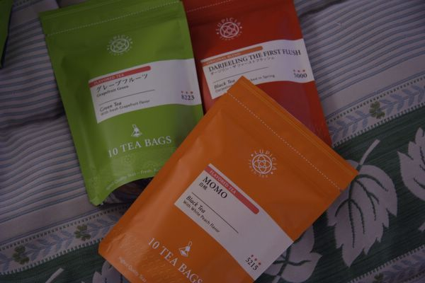Lupicia -- 茶包