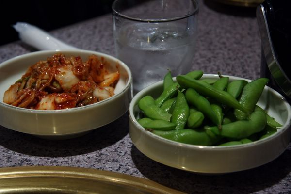 金泉苑 -- 泡菜 & 枝豆