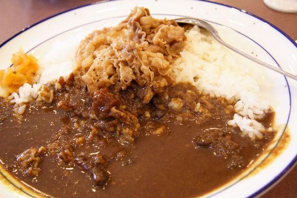 松屋 -- 咖喱牛肉飯 ((カレギュウ)