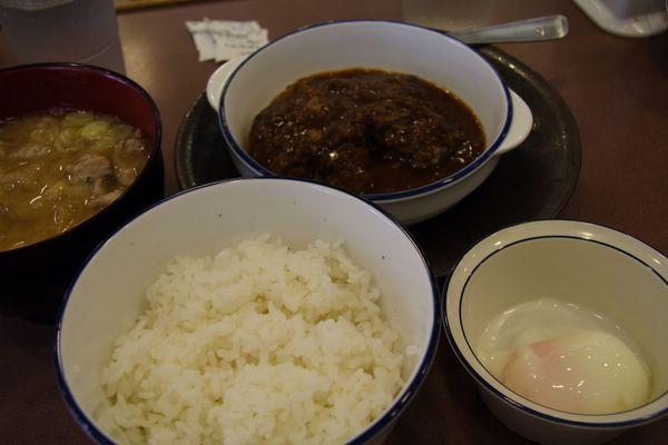 松屋 -- 漢堡排定食 (ハッシュドハンバーグセット)